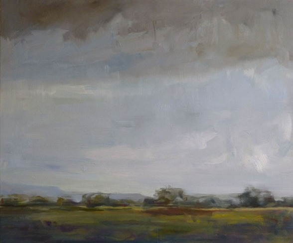 Across Time and Place, oil on canvas 76 x 91.5cm