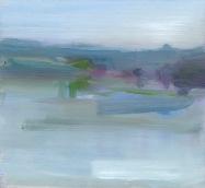 Little River, oil on board, 18 x 20cm, 2015