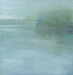 River #1, oil on board,30.5x30.5cm, 2015