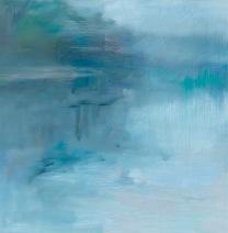 River #4, oil on board, 30.5x30.5cm, 2015