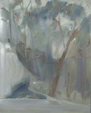 Beyond Pulpit, oil on board, 25.5x20cm, 2012